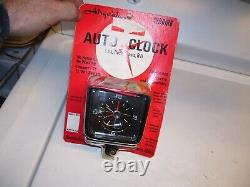 Vintage 70s nos Airguide auto CLOCK time dash service Ford gm chevy Hot rat rod