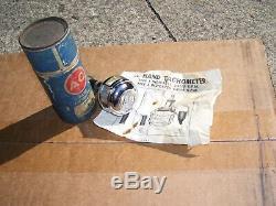 Vintage AC DELCO auto tachometer gauge tester car auto gm street rat hot rod oem