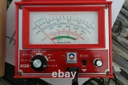 Vintage AC Delco 70s Engine tune-up tester meter auto service gm street rat rod