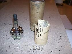 Vintage AC Delco Hand Tachometer gauge engine tester auto kit gm street rat rod