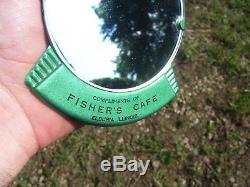 Vintage Automobile nos vanity Visor mirror gm ford chevy rat rod dodge pontiac