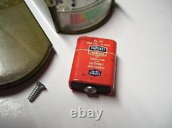 Vintage Delco 70s 60s Ignition cable tester meter auto service gm street rat rod
