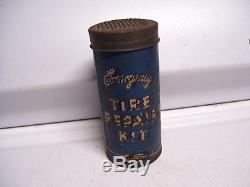 Vintage Ford tire repair kit auto parts mercury lincoln original accessory box