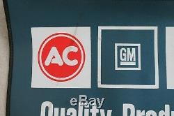 Vintage GM AC Delco fender promo accessory chevy camaro impala chevelle corvette