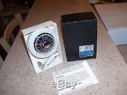 Vintage NOS rare 1950' s Airguide gauge altimeter dash automobile accessory part