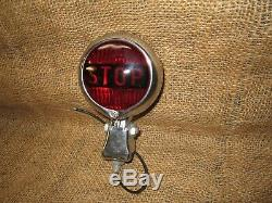 Vintage Original PMCO 401 Accessory STOP LIGHT lamp car truck motorcycle gm ford