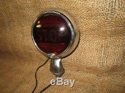 Vintage Original YANKEE Accessory STOP Light Brake lamp car truck motorcycle
