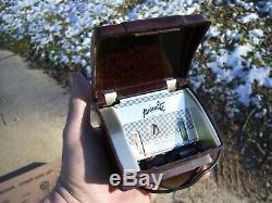 Vintage Pres-a-Lite auto cigarette lighter holder gm ford chevy rat rod pontiac