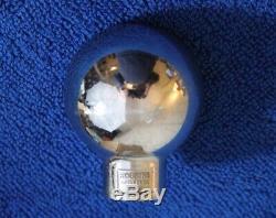 Vintage Robbins Chrome Schlitz Ball Beer Tap Gear Shift Knob Handle Accessory