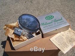 Vintage nos 60s chrome AAA award auto emblem badge gm ford chevy rat rod pontiac