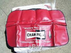 Vintage nos Champion Sparkplugs promo tool auto accessory gm street hot rod part