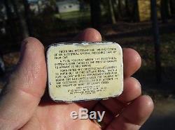 Vintage nos Ford original Emergency Fuse kit tin box auto tool kit promo parts
