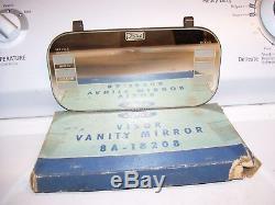 Vintage nos original rare 40s Ford Visor Vanity Service record travel Mirror