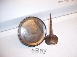Vintage original rare Ford antique Oil can oiler tool kit automobile part 30s