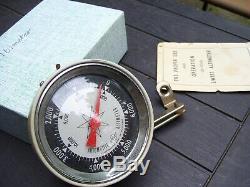 Vintage rare 1950' s Swift auto altimeter gauge barometer auto accessory part