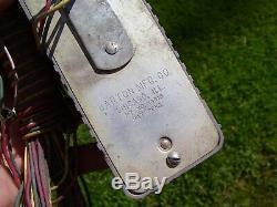 Vintage rare 1950' s rear window Brake light traffic auto signal accessory part