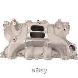 Weiand 8012 Stealth Aluminum 4bbl Intake Manifold Big Block BBF Ford 429 460 V8