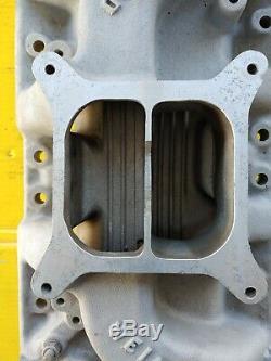 Weiand Ford 260 289 302 Aluminum 4v Intake Manifold 8011 Dual Plane