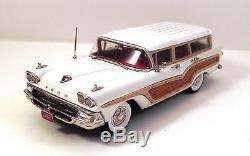 Wmce 1958 Ford Country Squire Wagon White Wmce 41